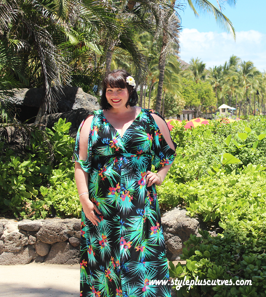 The Perfect Plus Size Dress for Your Tropical Vacation