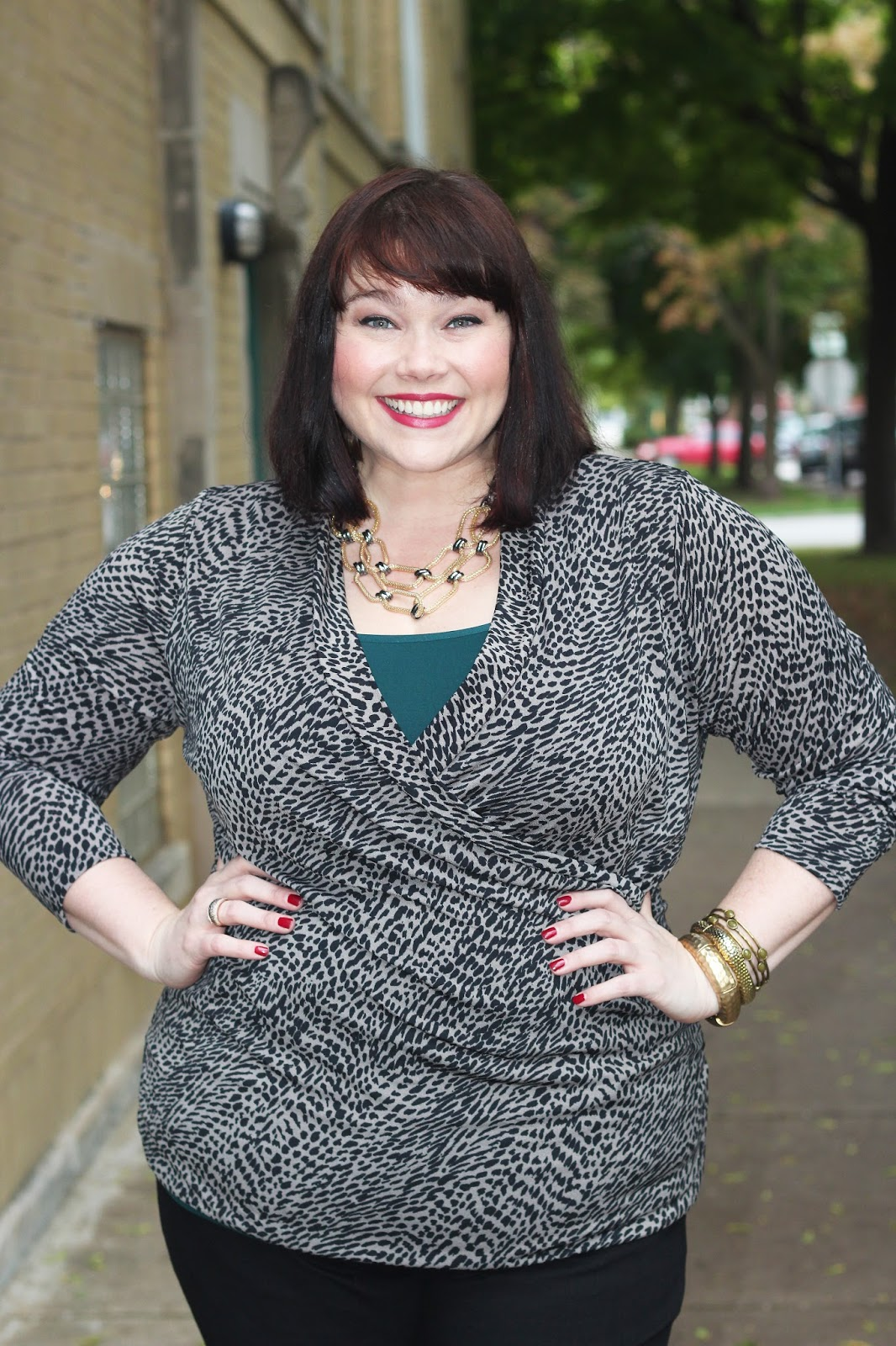 1a3c65b9911 There s plenty more adorable fall outfits for plus size fashionistas to  choose from on Kohls.com