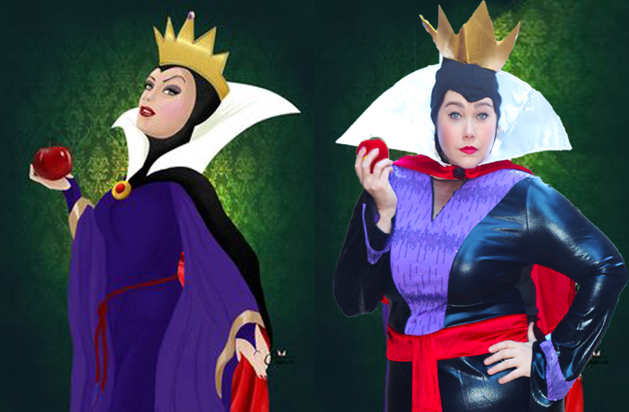 Plus Size Blogger Amber in Plus Size Halloween Costume for the Evil Queen from Snow White  sc 1 st  Style Plus Curves & Who is the Fairest of Them All? My Evil Queen Plus Size Halloween ...