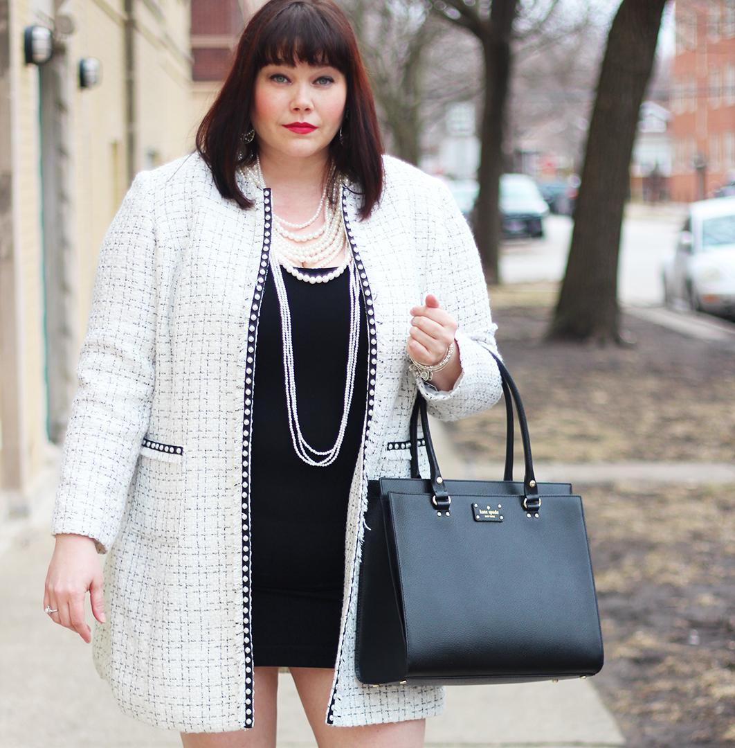 Plus Size Chanel Coat Archives Style Plus Curves A Chicago Plus