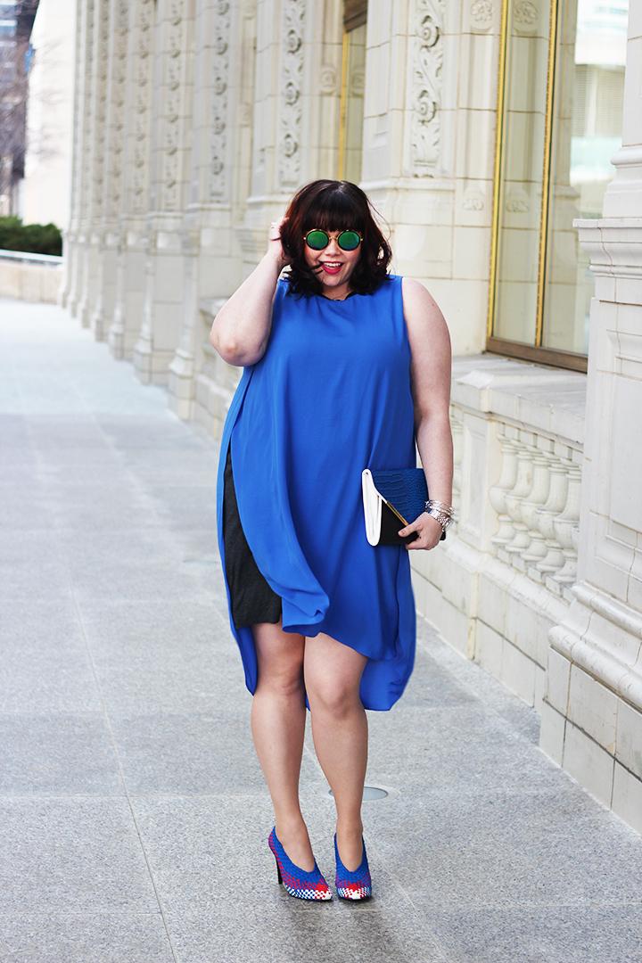 cbc93072a5 Plus Size Blogger Style Plus Curves in Rachel Roy Plus Size Dress