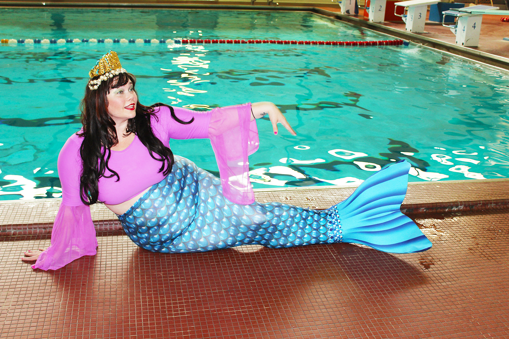 Plus Size Mermaid
