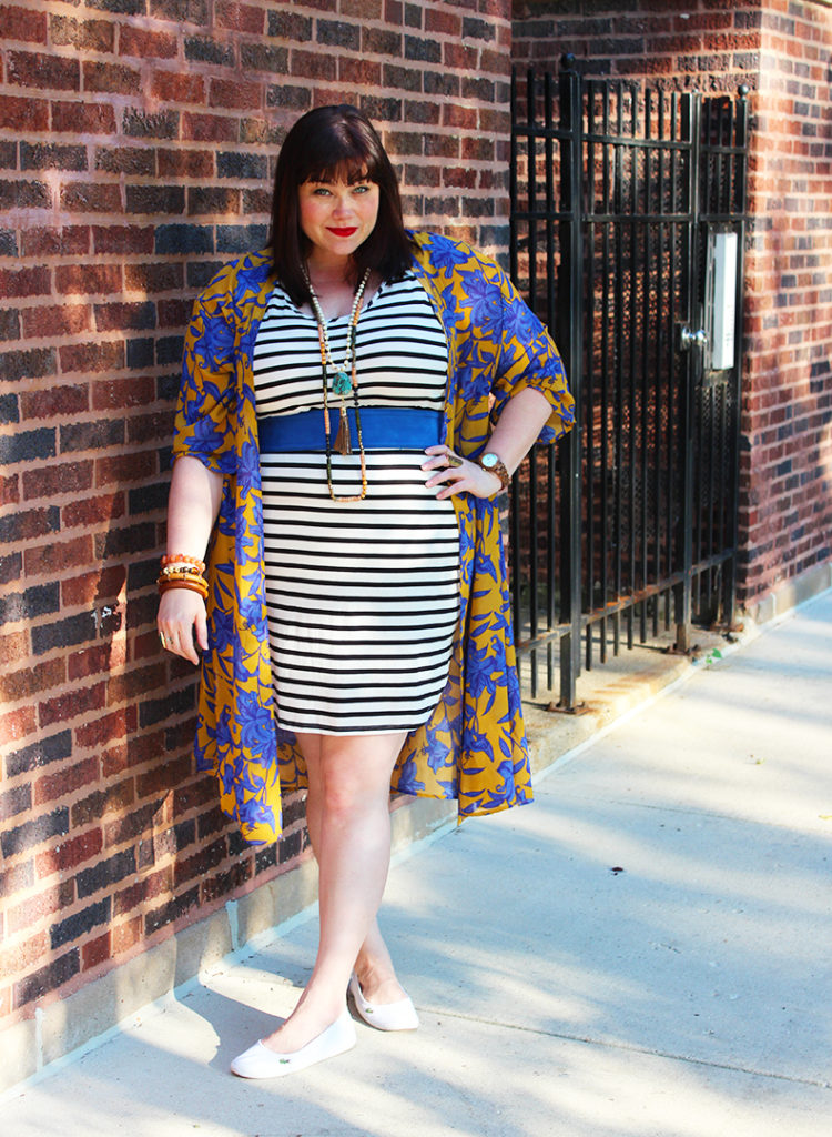 Plus Size Style: Bohemian Casual in H&M