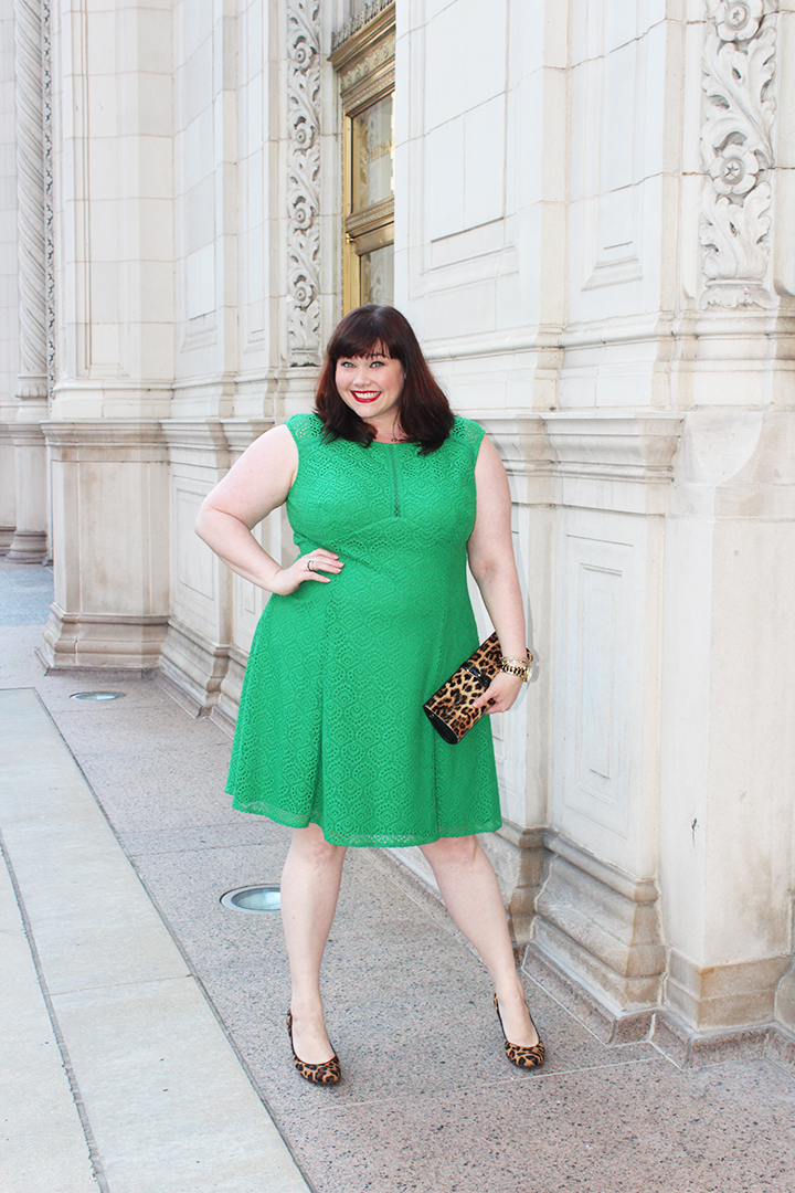 London Times Green Lace Plus Size Dress - Sample Sale Ends ...