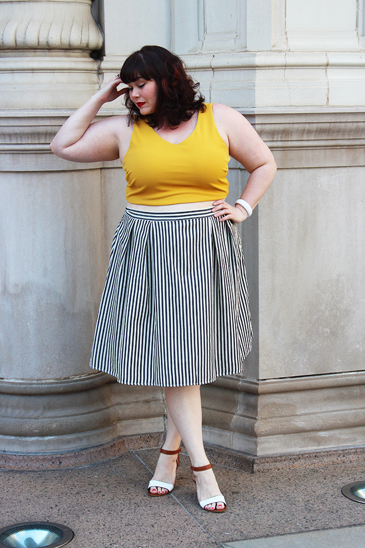 5fdea610495 Plus Size Blogger Amber from Style Plus Curves Modeling one of the biggest plus  size fashion