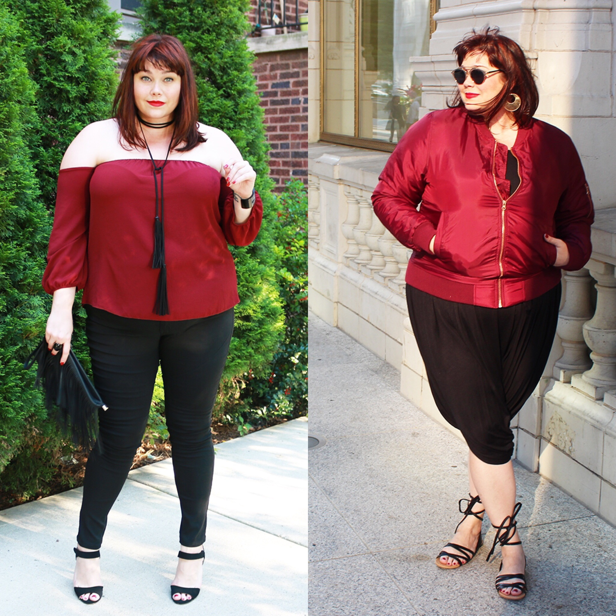 Color Trend: Black + Burgundy Featuring Debshops