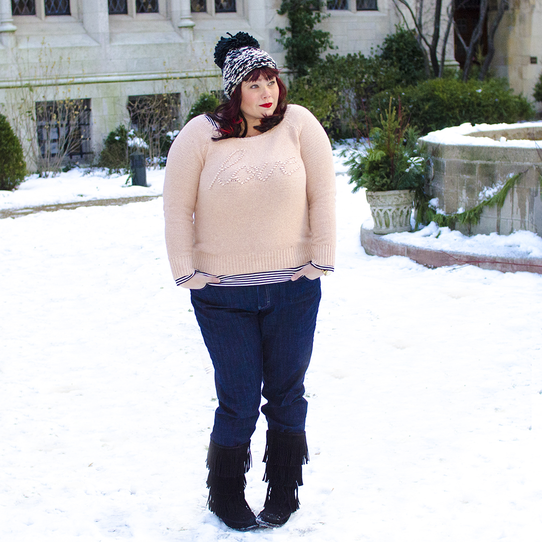 Plus Size Blog Style Plus Curves in Riders by Lee Jeans