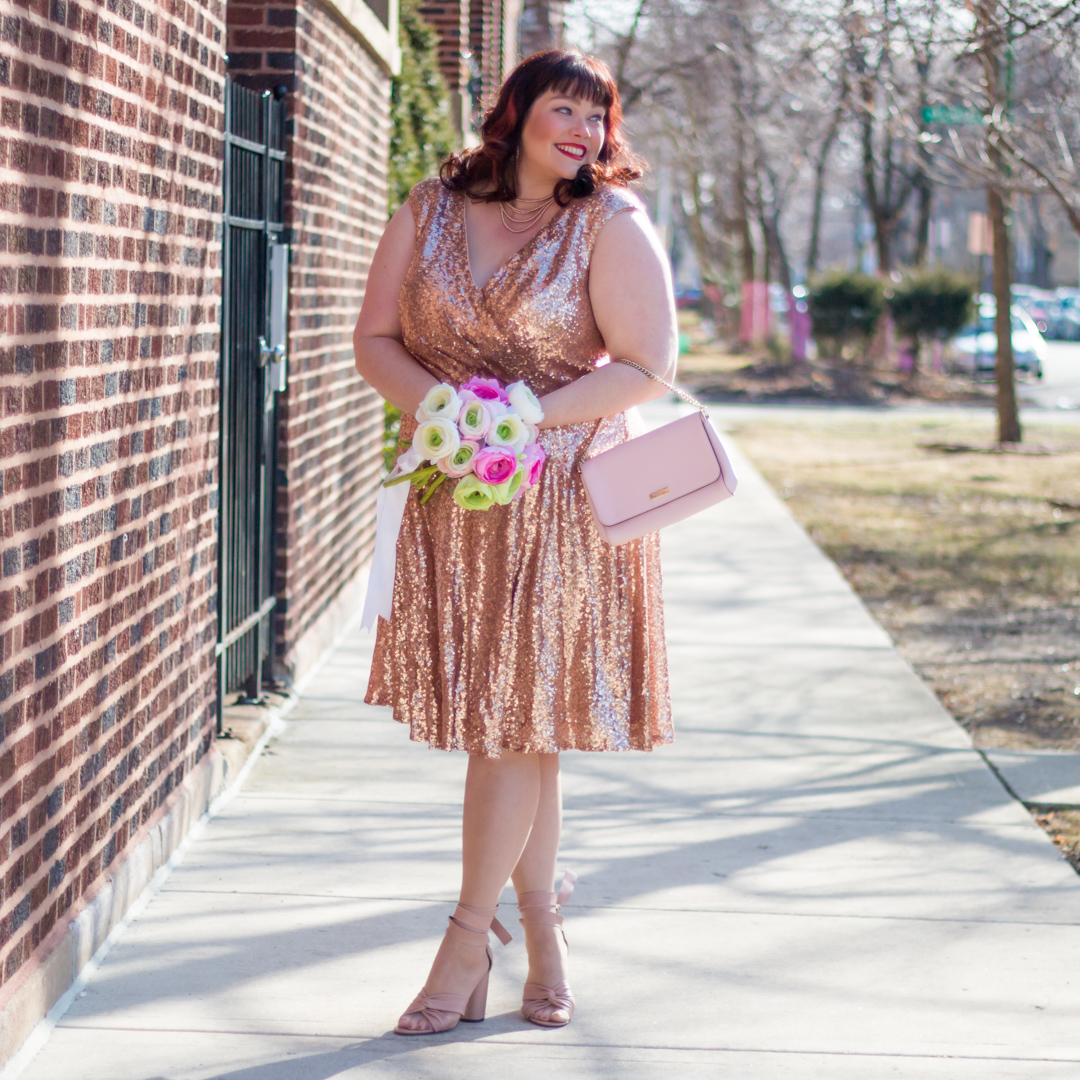 Black And Gold Sequin Dress Plus Size