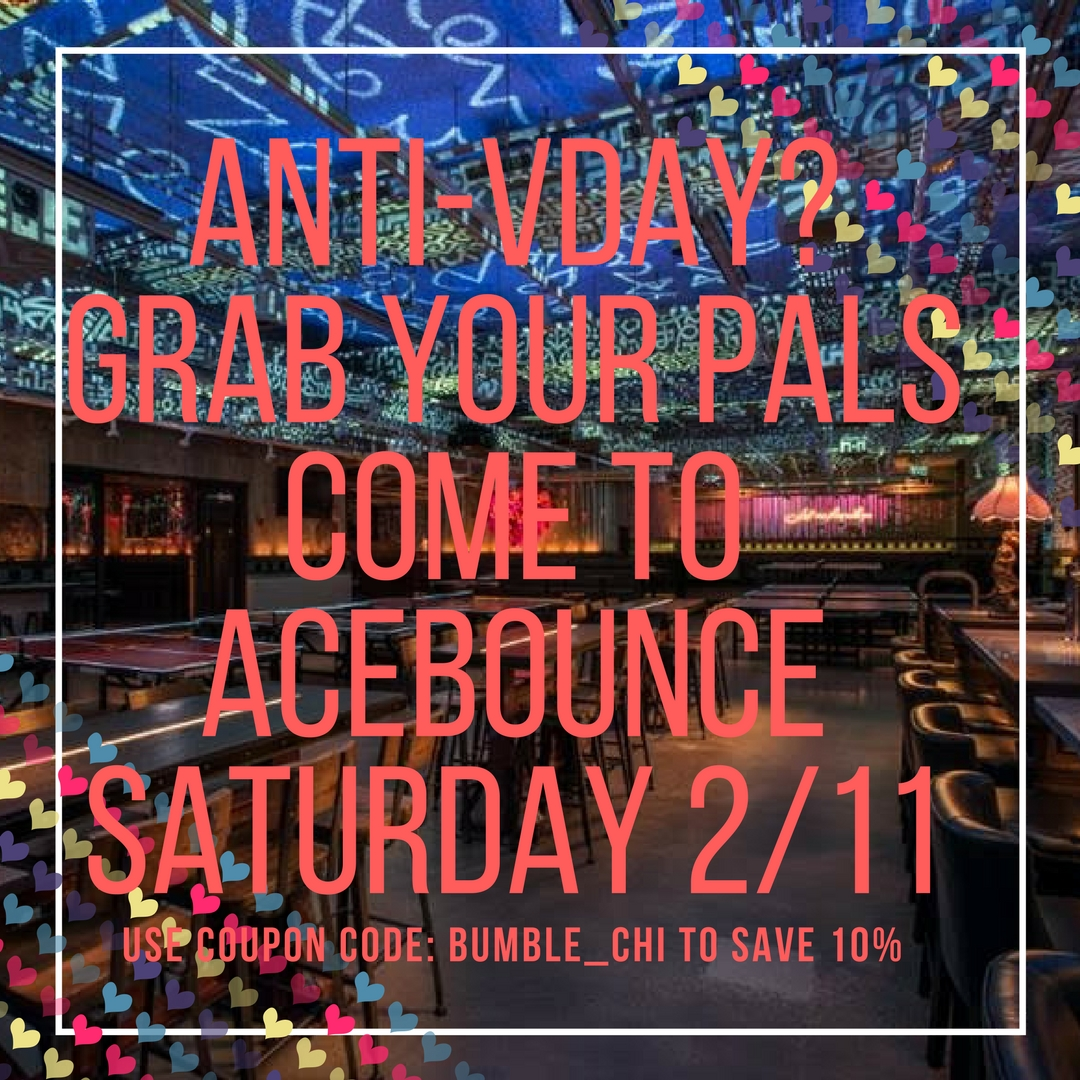 Chicago Event: Anti-Valentine's Day Party at AceBounce