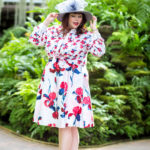 Prabal Gurung x Lane Bryant Floral Blouse and Floral Circle Skirt