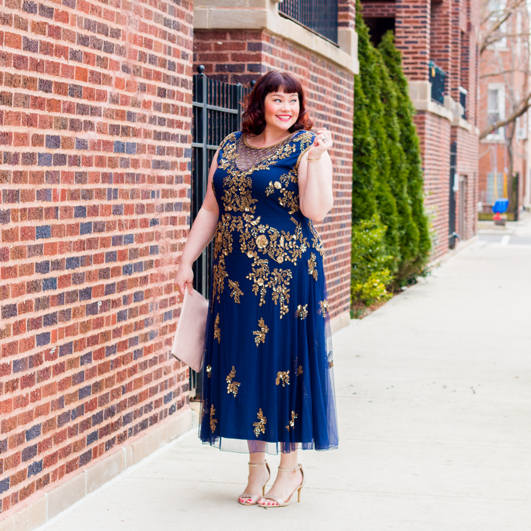Best Dressed: 5 Style Rules for Plus Size Wedding Guests