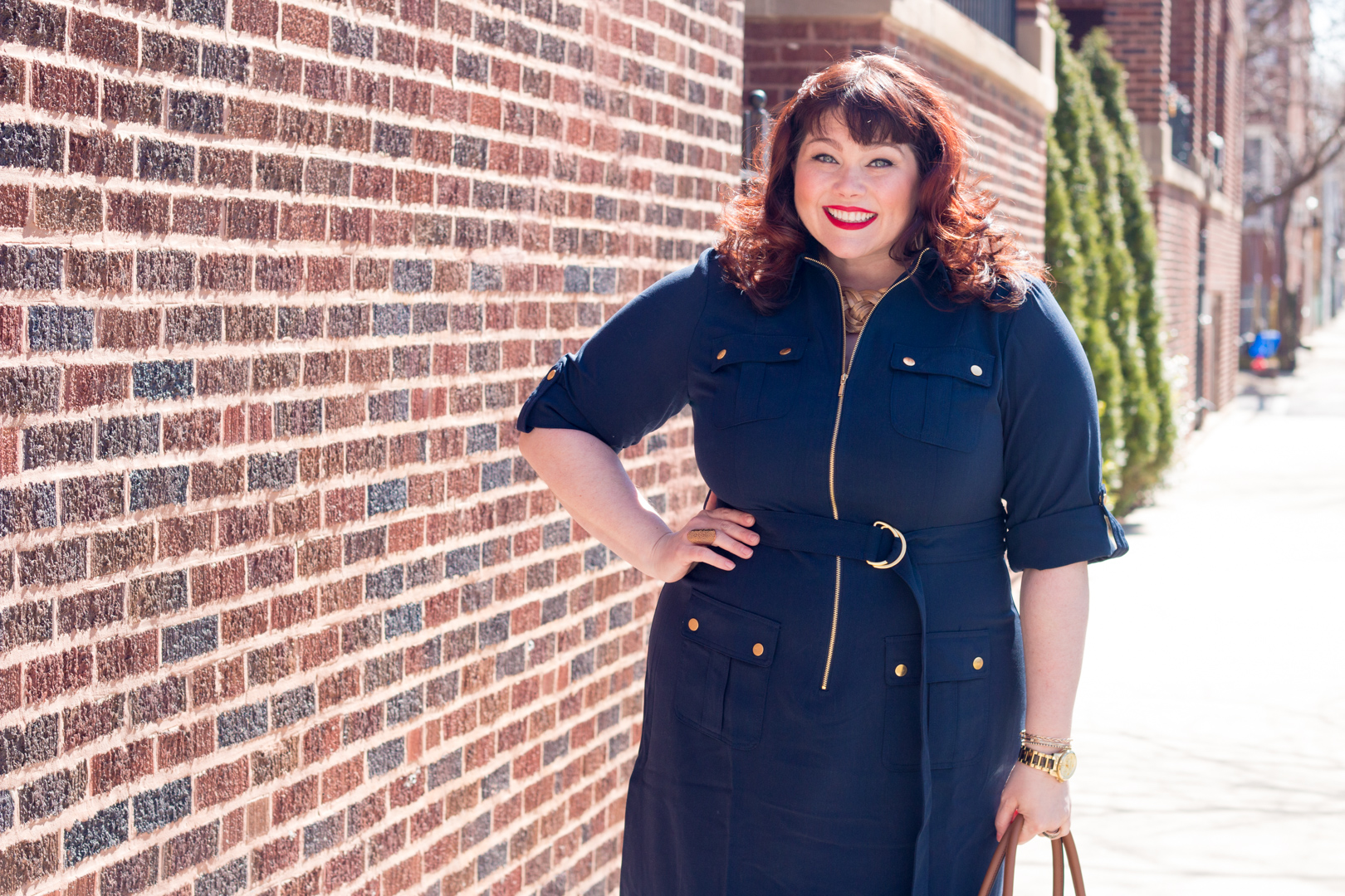 Work Wear: Best Plus Size Shirt Dress from Avenue