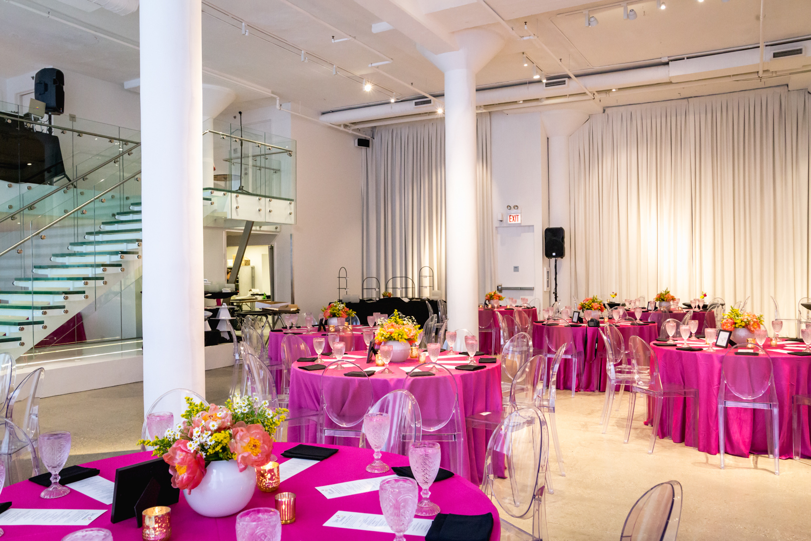 Chez Event Space in Chicago during the Leading Ladies Luncheon