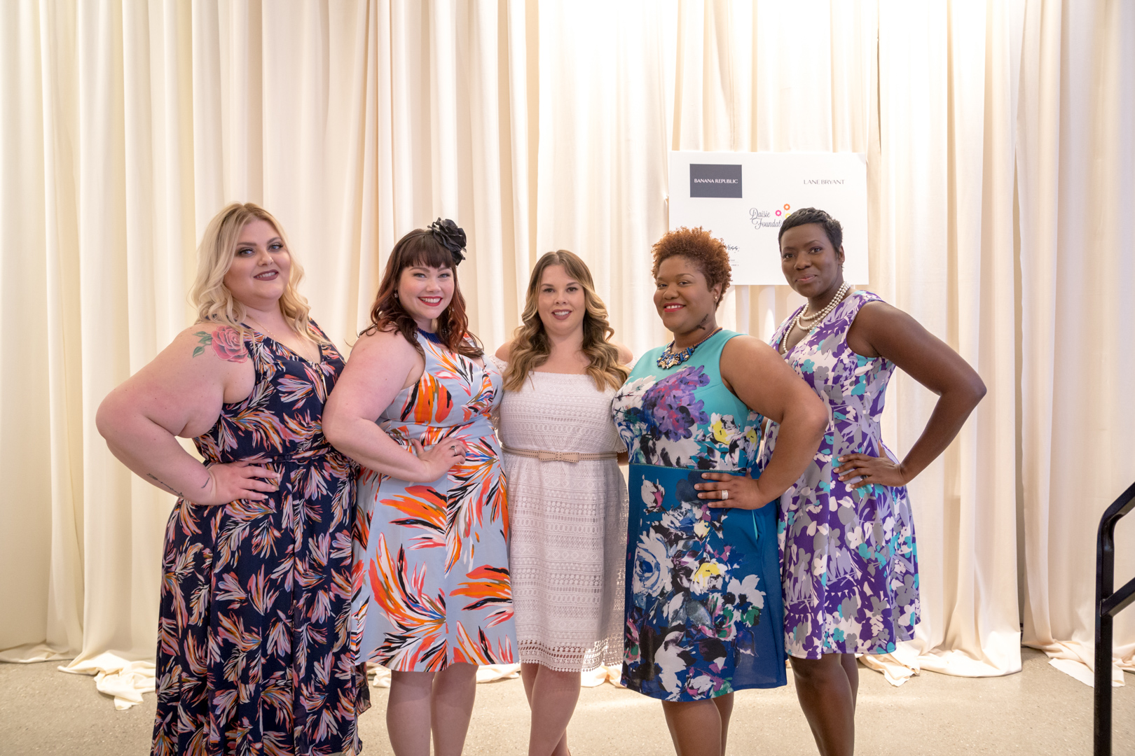 Lane Bryant Fashion Show for Leading Ladies Luncheon
