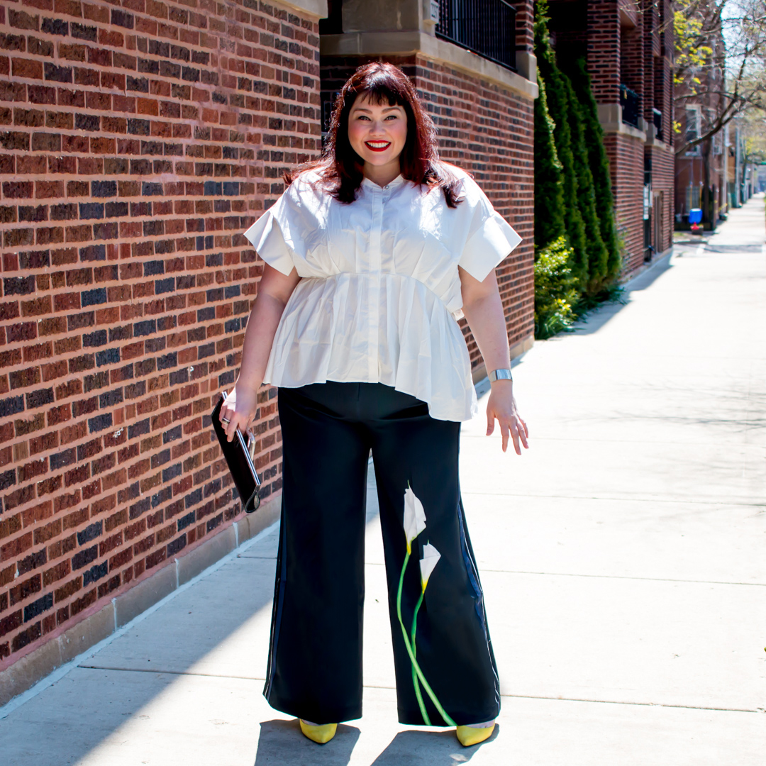 Victoria Beckham x Target Plus Size Cala Lilly Pants