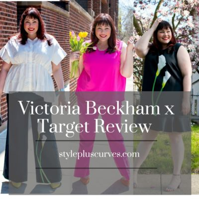 Victoria Beckham x Target Plus Size Collection Review
