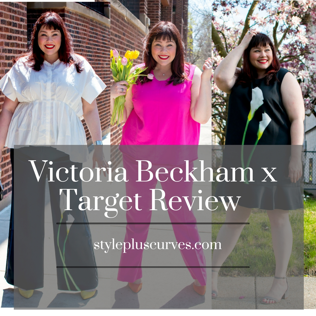 ce03f3f321 Victoria Beckham x Target Plus Size Review