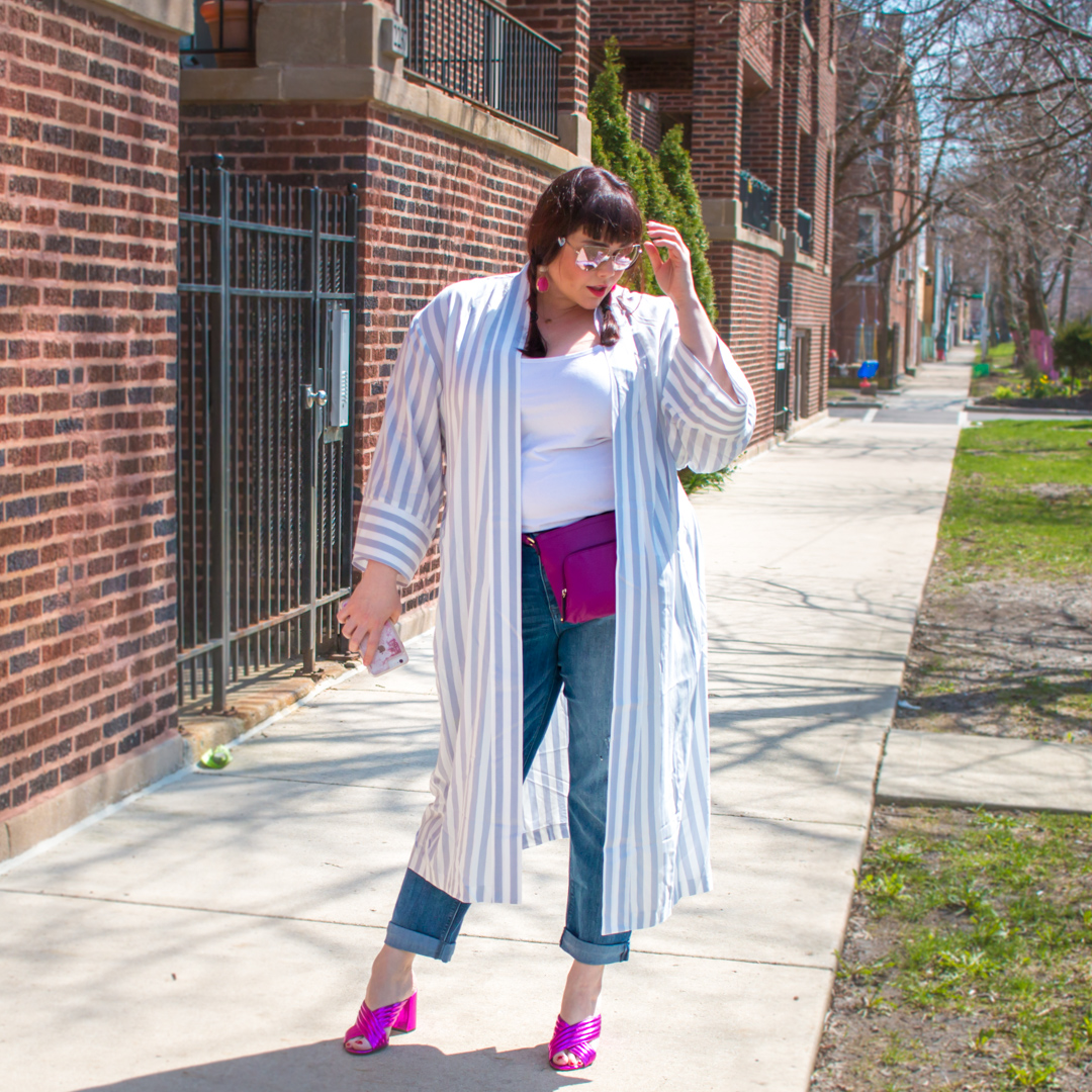 Plus Size Style Trend: Kimono Robe and Pajama Dressing