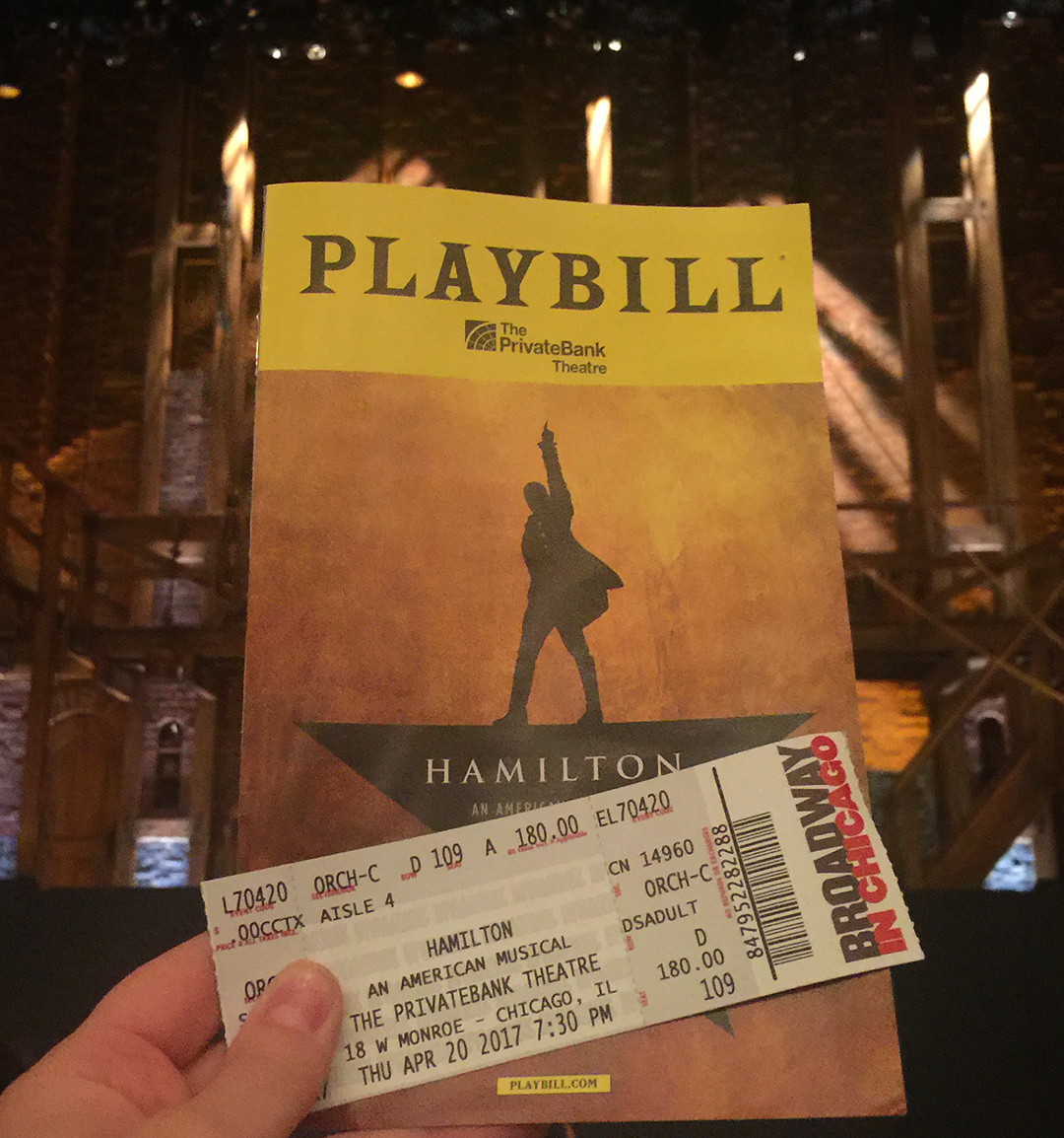 Hamilton Tickets Chicago