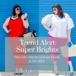 Plus Size Summer Style Trends Bright Colors featuring looks from JCPenney
