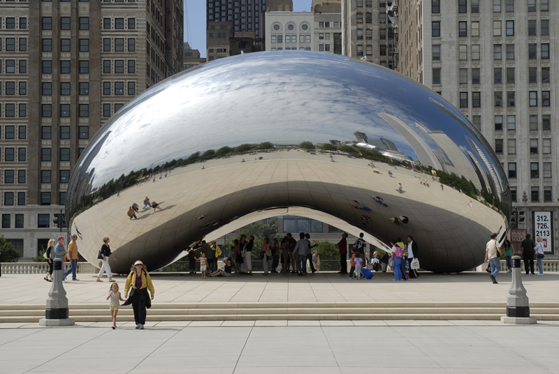 Cloud Gate, The Bean, Chicago Sculpture