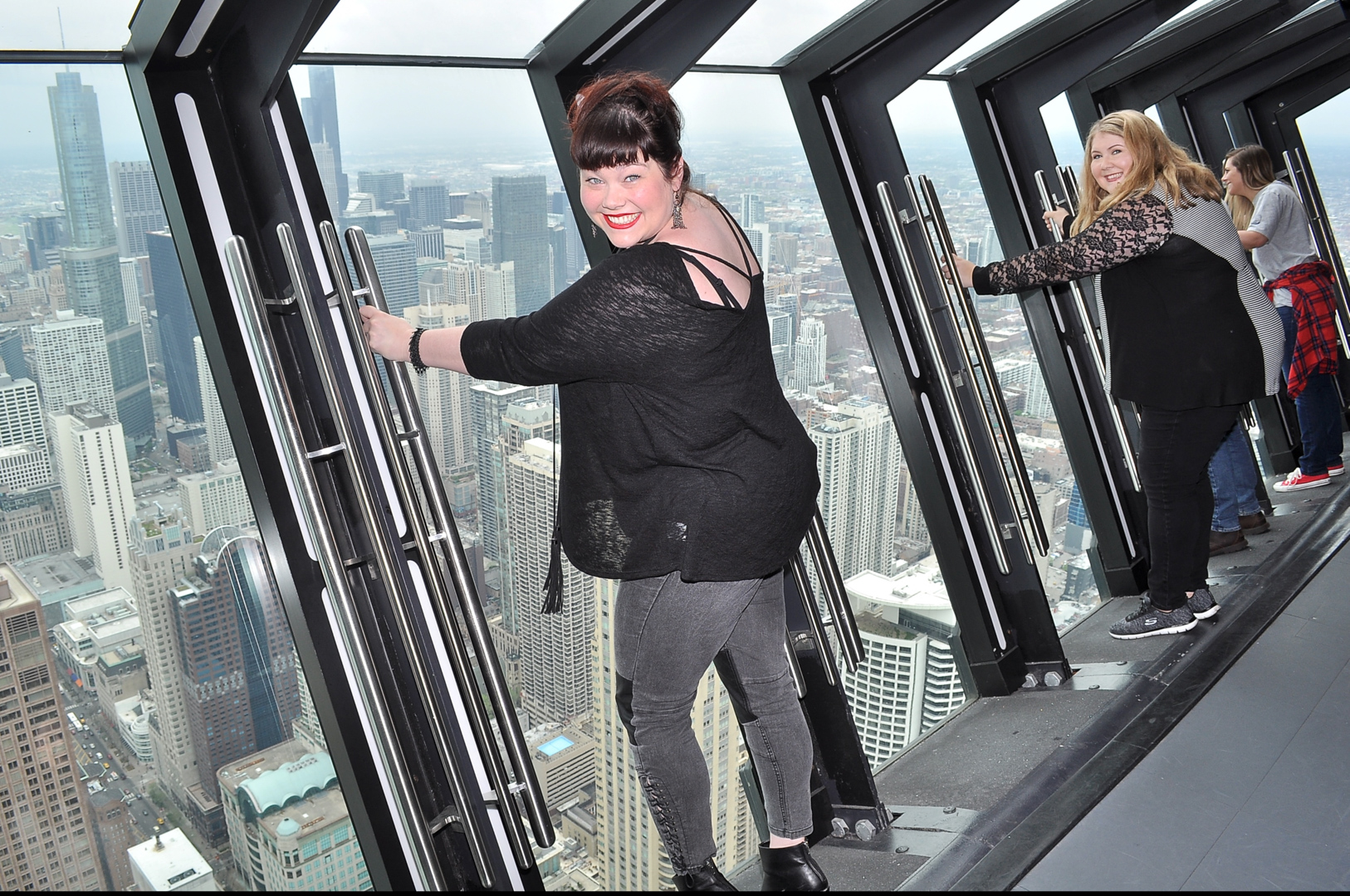 Tilt Attraction at 360 Chicago Observation Deck