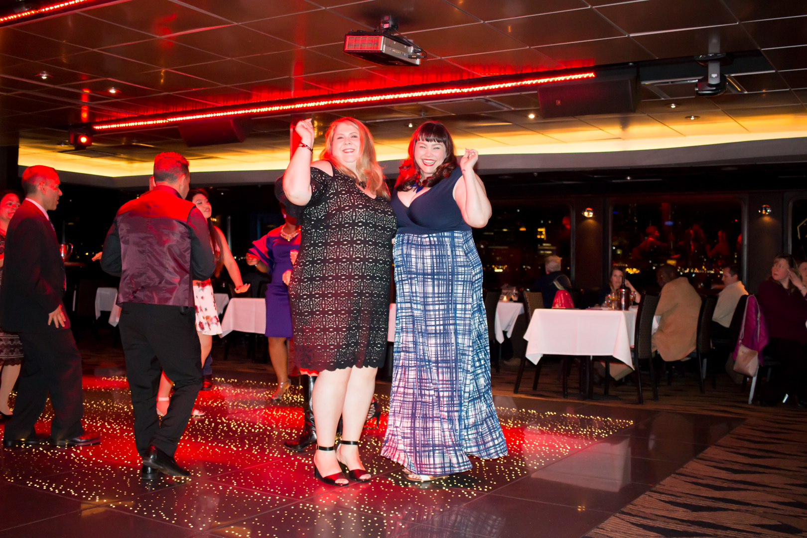 Dancing on Odyssey Boat Cruise