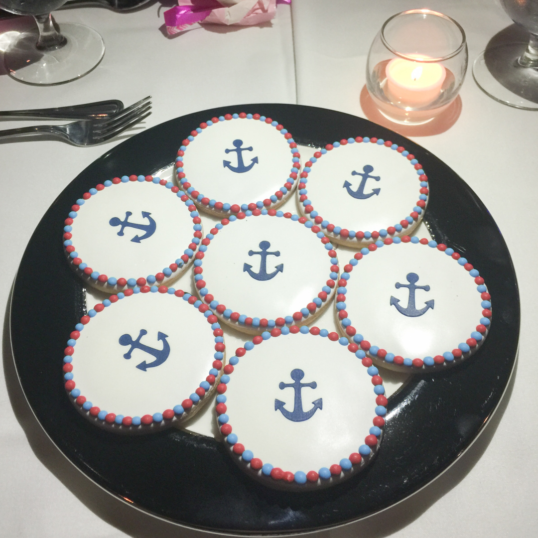 Sailor Cookies on Odyssey Boat Cruise