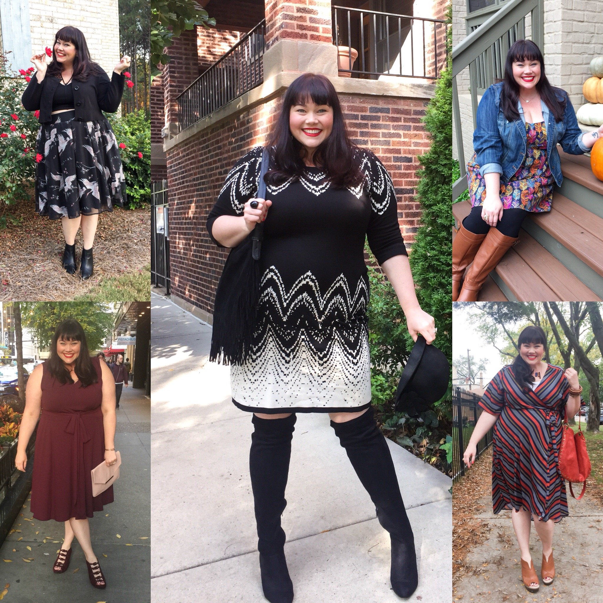 Gwynnie Bee Plus Size Clothing Haul – October