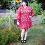 Plus Size OOTD, Target, Who What Wear Collection, Fall Fashion, Plus Size Fashion Find, Plus Size Dress, Style Plus Curves, Chicago Blogger, Chicago Plus Size Blogger, Plus Size Blogger, Amber McCulloch