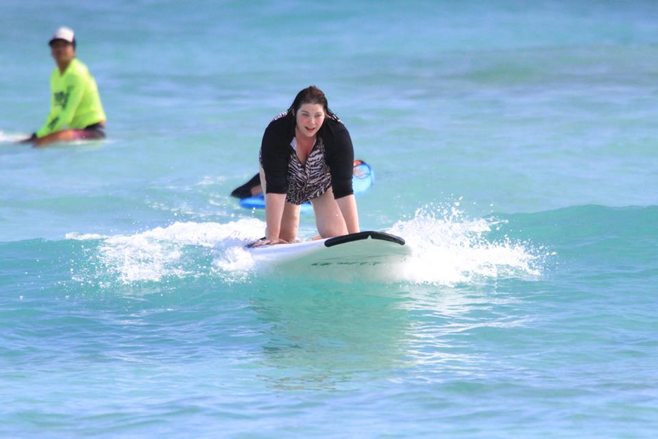 Fat and Fit, Plus Size Exercise, Plus Size Surfer, Hawaii, Plus Size Style, Plus Size Fashion, Style Plus Curves, Chicago Blogger, Chicago Plus Size Blogger, Plus Size Blogger, Amber McCulloch