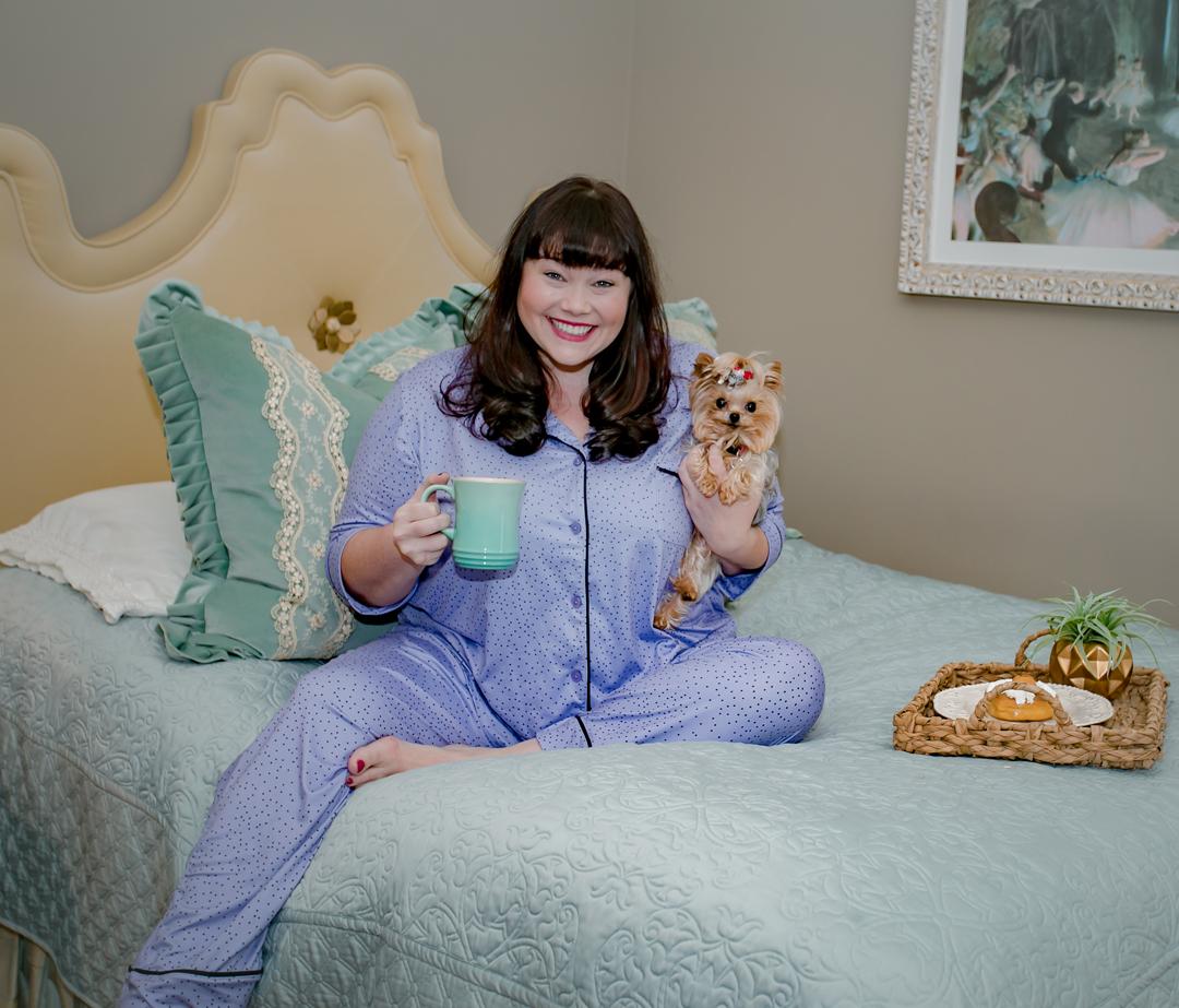 Plus Size Pajamas: Simply Vera Vera Wang PJs from Kohls