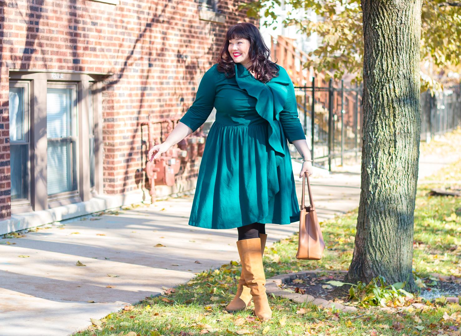eShakti, custom plus size, Plus Size Holiday, Plus Size Style, Plus Size Fashion, Style Plus Curves, Chicago Blogger, Chicago Plus Size Blogger, Plus Size Blogger, Amber McCulloch