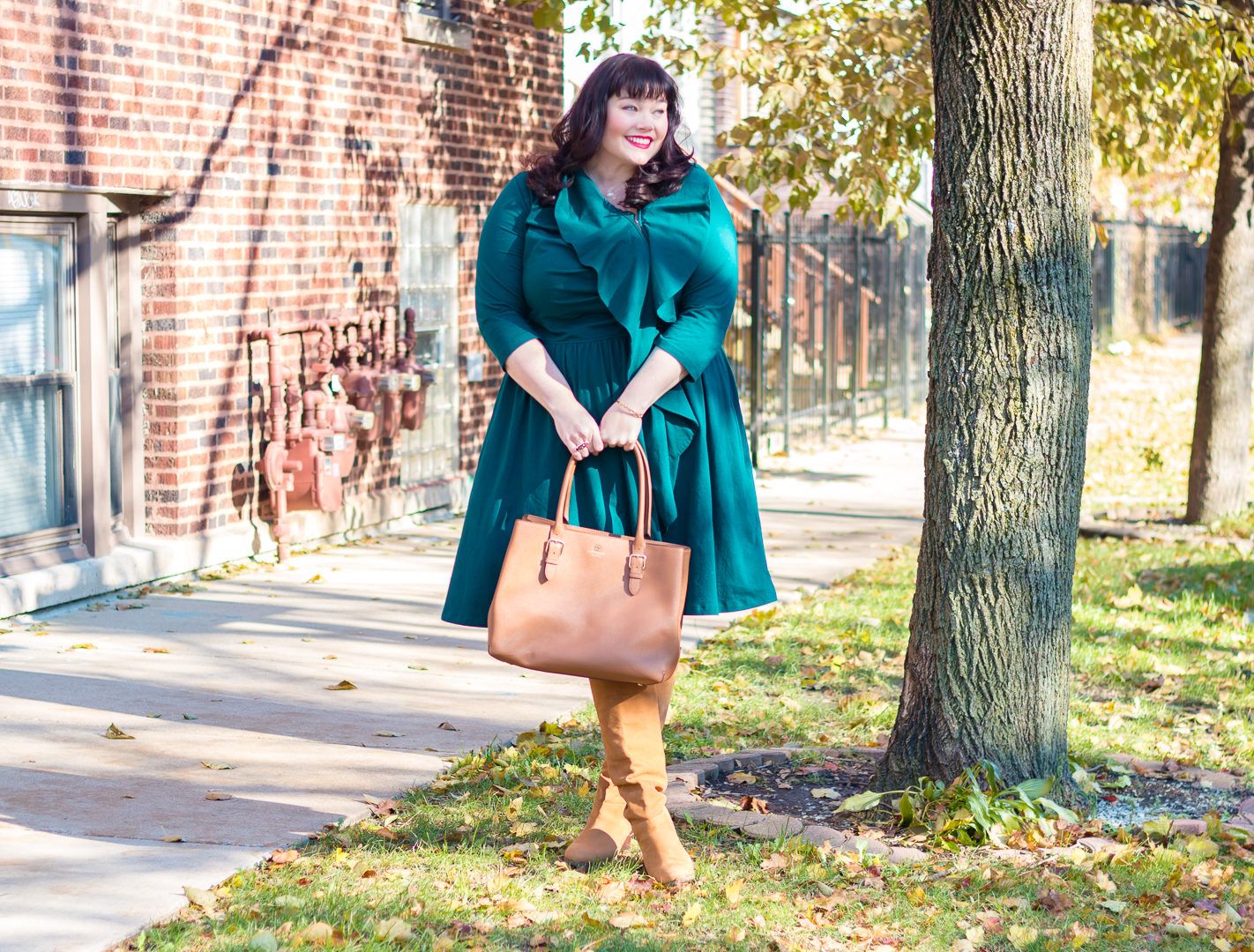 Custom Plus Size Fashion Featuring eShakti