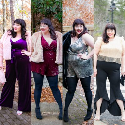 Plus Size NYE Outfit from Forever 21 Plus: 4 Choices