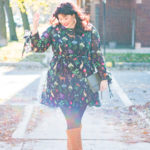 Plus Size OOTD, Asos Curve, Unique 21 Tea Dress in Garden Floral Print, Plus Size Fashion, Style Plus Curves, Chicago Blogger, Chicago Plus Size Blogger, Plus Size Blogger, Amber McCulloch