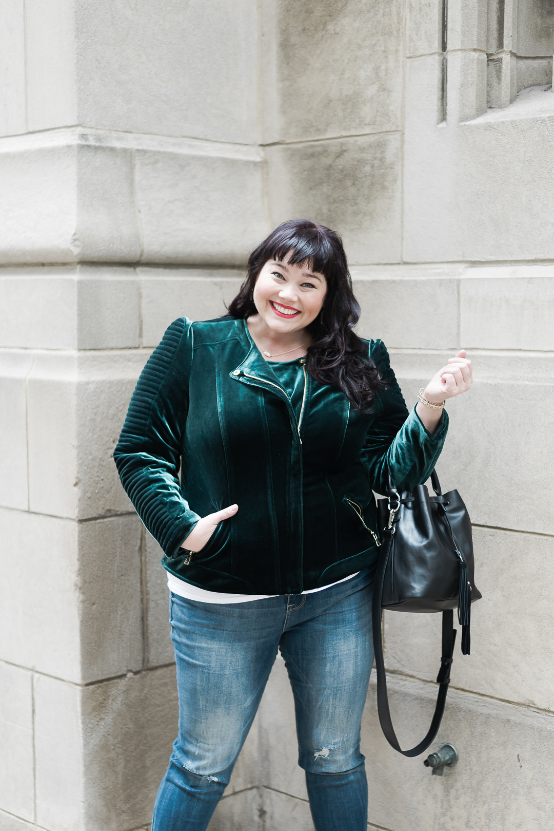 Emerald Green Plus Size, Macy's, Rachel Roy, Plus Size Style, Plus Size Fashion, Style Plus Curves, Chicago Blogger, Chicago Plus Size Blogger, Plus Size Blogger, Amber McCulloch
