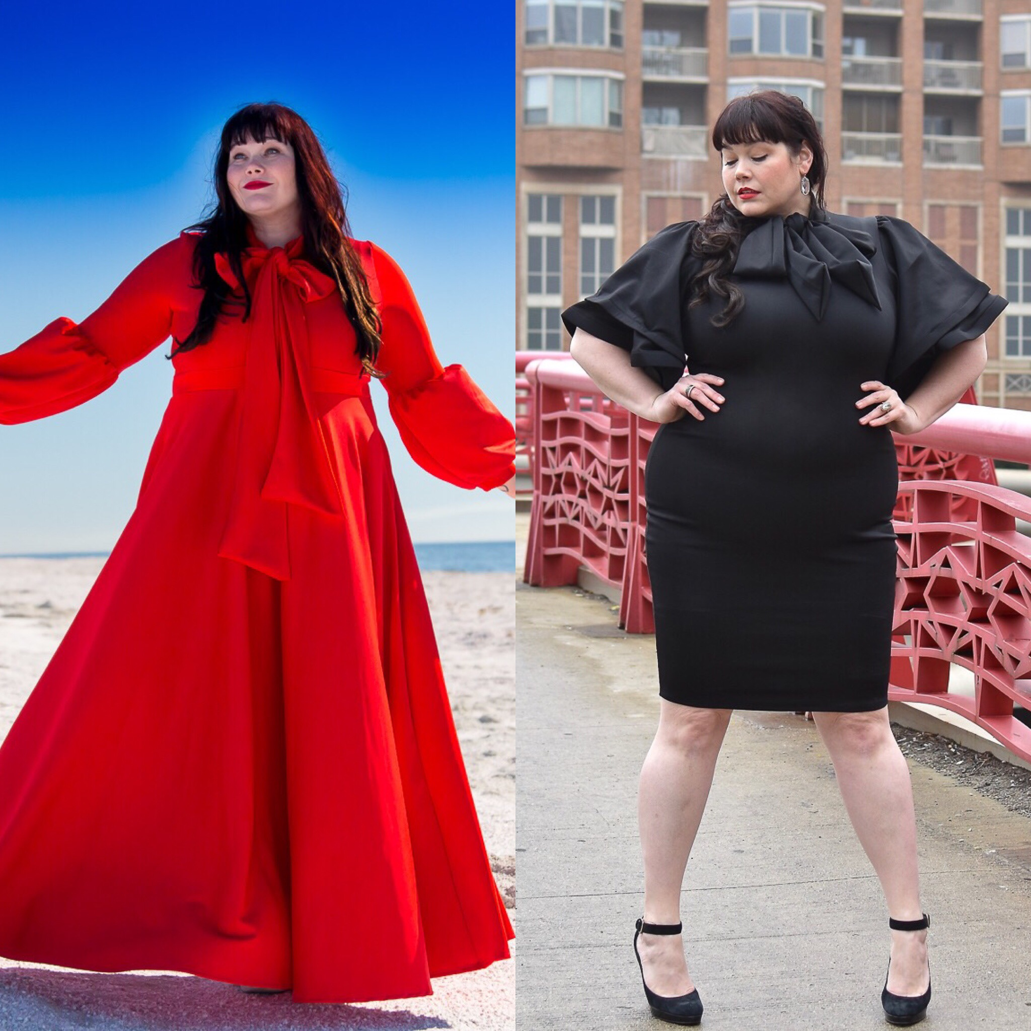 Red dress Archives | Style Plus Curves - A Chicago Plus Size ...