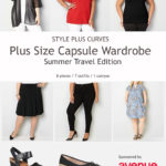 Plus Size Capsule Wardrobe, Avenue, Plus Size Travel Tips, Plus Size clothing, plus size blogger