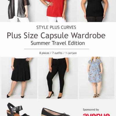 Plus Size Capsule Wardrobe, Travel Edition – Sponsored by Avenue