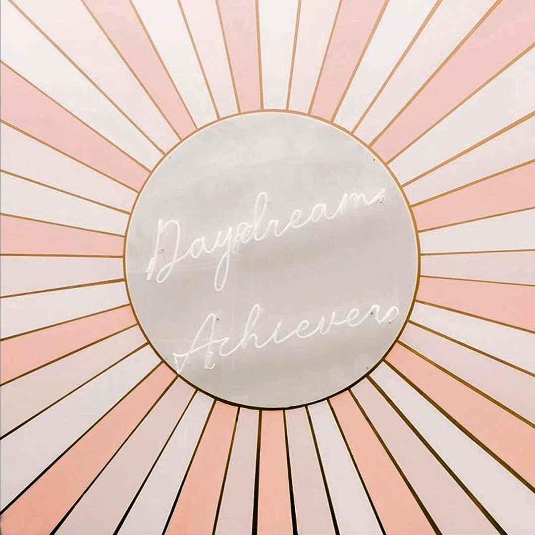Daydream Achiever Neon Light Installation at Create and Cultivate Chicago