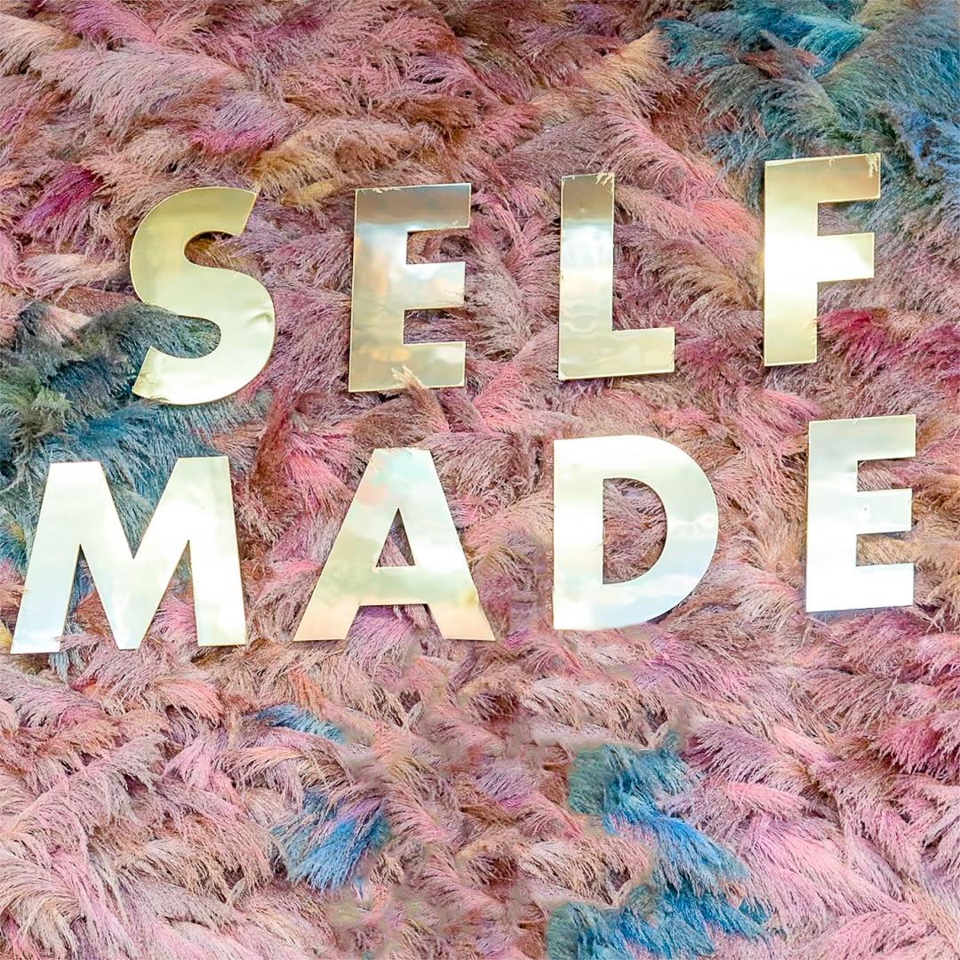 Self Made Feather Installation at Create and Cultivate Chicago