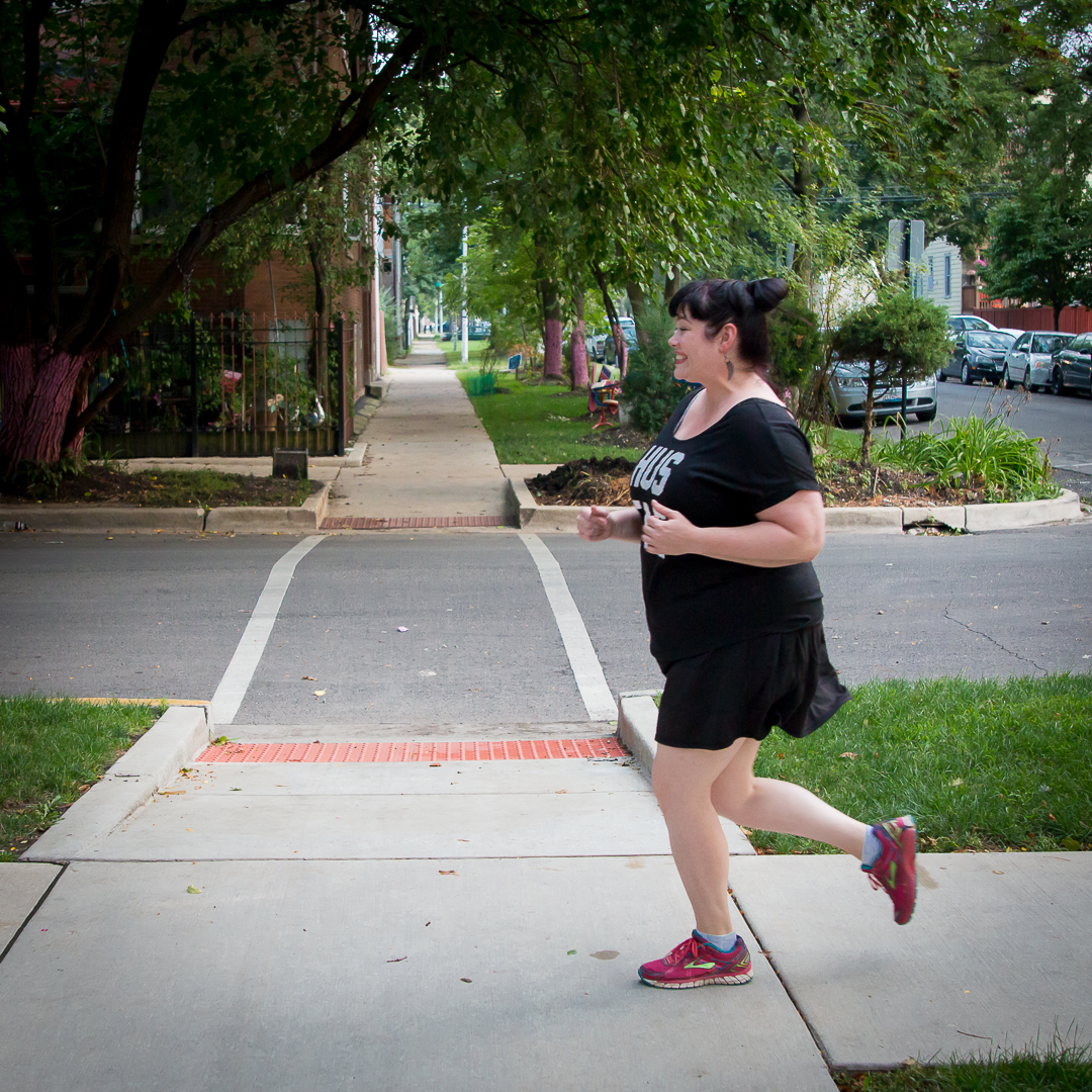 Plus Size Blogger Amber Running