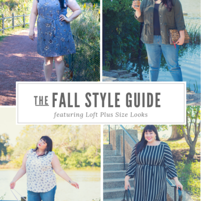 LOFT Plus Size Clothes Now In Stores - Fall Style Guide