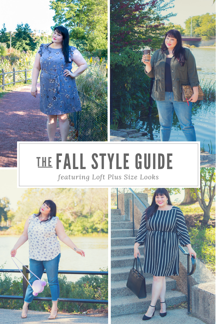 LOFT Plus Size Clothes Now In Stores – Fall Style Guide