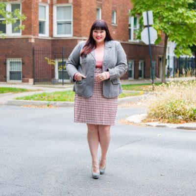 Plus Size Blogger Wears Chadwicks of Boston