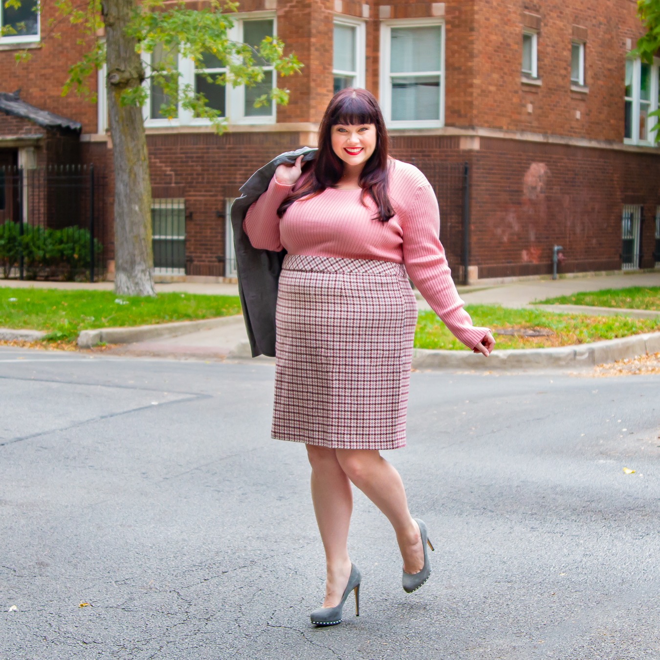 Plus Size Workwear Outfit from Plus Size Blogger