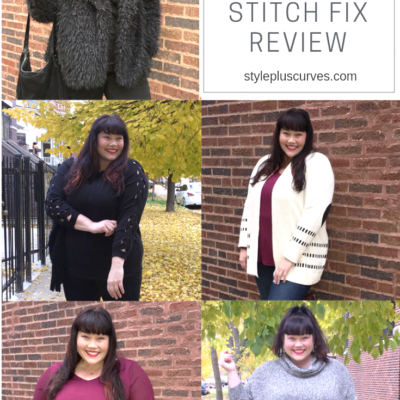 Plus Size Stitch Fix Review with Fall Layering Pieces