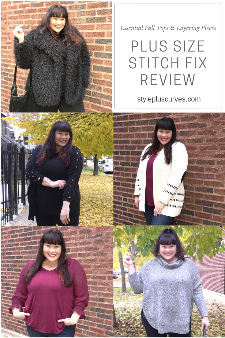 Plus Size Stitch Fix Review – Essential Fall Staples